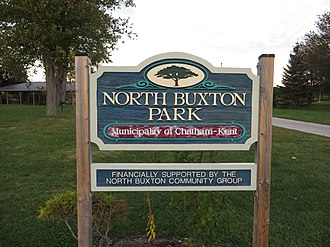 North Buxton - Image: Buxton National Historic Site and Museum, South Buxton, Ontario (21151999154)
