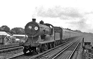 LSWR D15 class class of 10 two-cylinder 4-4-0 locomotives