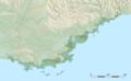 Côte d'Azur relief location map.png