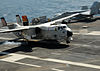 C-2A NP VRC-40 lands on USS Bush (CVN-77) 2010.jpg