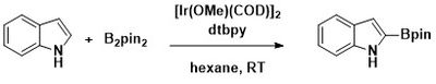 C–H borylation of heteraromatics