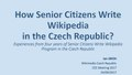 CEE Meeting 2017, How Senior Citizens Write Wikipedia in the Czech Republic.pdf