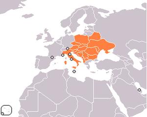 Central European Initiative - Central European Initiative member states