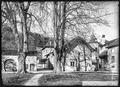 CH-NB - Concise, Ancienne Chartreuse de La Lance, château, vue partielle extérieure - Collection Max van Berchem - EAD-7341.tif