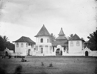 Pati Regency - Pati mosque (c.1900-1940).