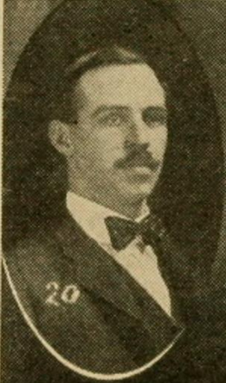 Charles P. Hutchins - Hutchins pictured c. 1906 at Wisconsin