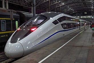 China Railway High-speed - A CRH2E high-speed overnight sleeper in 2017.