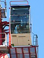 Cab on the crane - geograph.org.uk - 1722787.jpg