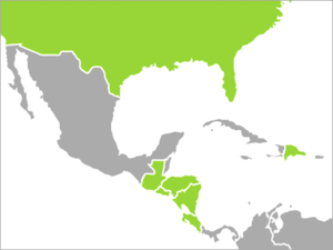 Dominican Republic–Central America Free Trade Agreement - CAFTA-DR has been approved by the Dominican Republic, El Salvador, Costa Rica, Guatemala, Honduras, Nicaragua, and the United States.