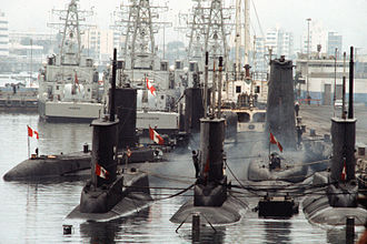 Peruvian Navy - Callao naval base.