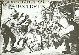 Tom McIntosh (comedian) - Callender's Colored Minstrels plantation scene