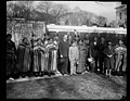 Calvin Coolidge and group of Native Americans outside White House, Washington, D.C. LCCN2016888629.jpg