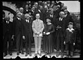 Calvin Coolidge and group outside White House, Washington, D.C. LCCN2016887690.jpg