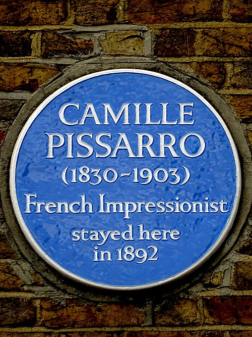 Camille pissarro (1831–1903) french impressionist stayed here in 1892