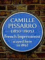 Camille Pissarro (1831–1903) French impressionist stayed here in 1892.jpg