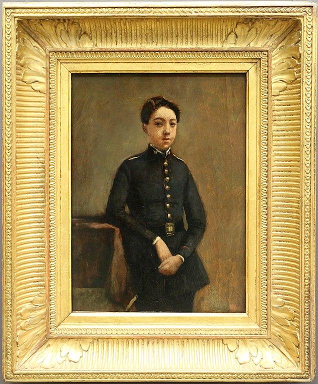File:Camille corot, il collegiale, 1854 ca.jpg - Wikimedia ...