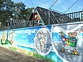 Campingplatz Krossinsee - Wandbild (Krossinsee Campsite - Mural) - geo.hlipp.de - 34911.jpg