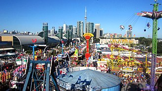 Canadian National Exhibition - The CNE Midway on August 31, 2012