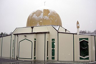 Christchurch mosque shootings - Image: Canterbury Mosque 12 June 2006 (adjusted levels)