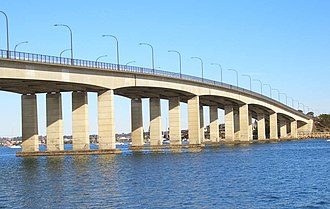 Captain Cook Bridge, New South Wales - Image: Captain Cook Bridge 3