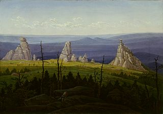 "The ""Three Stones"" in the Giant Mountains"