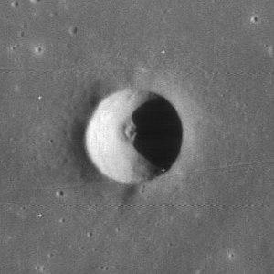 Carlini (crater) - Image: Carlini D crater 4127 h 1