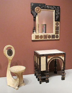 Carlo Bugatti - Furniture at Art Institute of Chicago