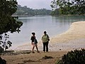 Caroline, Sam and Felicity, Erakor Island, Vanuatu, 5 June 2006 (162225780).jpg