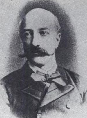 Petre P. Carp - P. P. Carp (pre-1900 photograph)