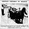 Carriage rides Coogee Beach - West Australian 8 Mar 1945.JPG