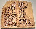 Carved stucco, Type A, dado, from Samarra, Iraq, 9th century CE. Pergamon Museum.jpg