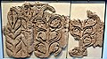 Carved stucco wall from Kharab Sayyar in northern Syria. 9th-10th century CE. Obviously influenced by Samarra art. Islamic Art Museum (Museum für Islamische Kunst), Berlin.jpg