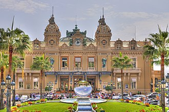 Monte Carlo Casino - Casino de Monte-Carlo in the Principality of Monaco