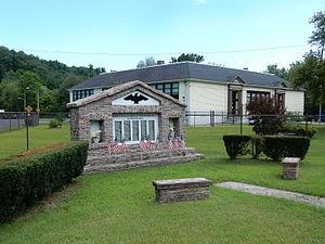 Cass Township, Schuylkill County, Pennsylvania - Cass Township Municipal Bldg. and War Memorial.