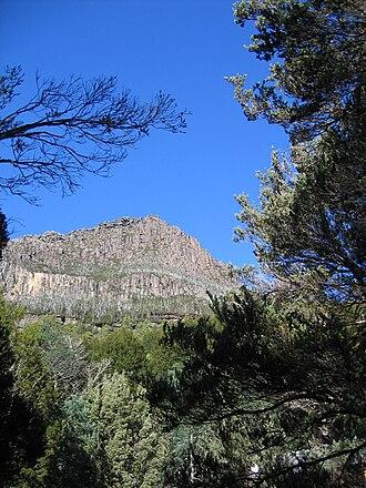 Castle Crag (Tasmania) - Image: Castle Crag
