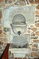 Castrejón de la Peña Church of Saint Agatha 011 washbasin.jpg