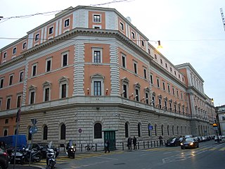 Italian government ministry responsible for military and national defense matters