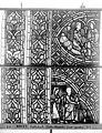 Cathédrale - Vitrail, déambulatoire au nord, saint Julien l'Hospitalier, quatrième panneau, en haut - Rouen - Médiathèque de l'architecture et du patrimoine - APMH00031350.jpg