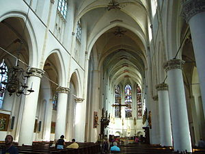 St Catherine's Cathedral, Utrecht - Image: Catharijnekerk interieur