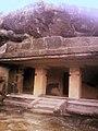 Caves, exteriors, steps, pathways at Kanheri 09.jpg