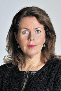 Cecilia Wikström Swedish politician