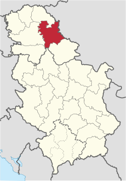 Central Banat in Serbia.svg