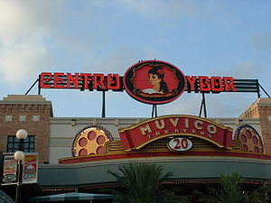 Muvico Theaters - The Muvico 20-screen theater complex in Ybor City, downtown Tampa, Florida