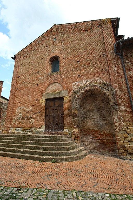 Certaldo, La chiesa dei Santi Tommaso e Prospero