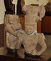 Chakravyuha Sankarshan Vasudeva - Balarama Krishna Pradumn Samb Anirudha - Circa 2nd Century CE - Sapta Samudri Koop Museum - ACCN 14-392-395 - Government Museum - Mathura 2013-02-23 5628.JPG