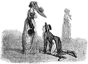 Amédée de Noé - A Cham satire on women's fashions