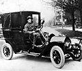 Chambers automobile, the second taxicab in Seattle, ca 1909 (TRANSPORT 42).jpg