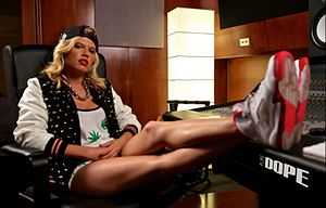 Chanel West Coast - Chanel West Coast poses for Pure DOPE in 2013