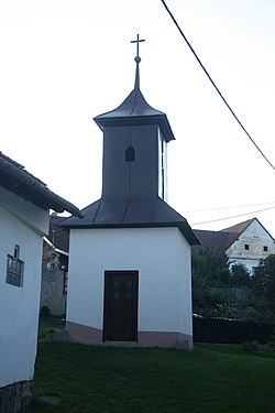 Chapel in Rousměrov, Žďár nad Sázavou District.jpg