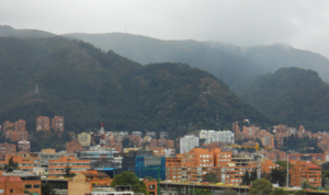 North of the District of Chapinero in Bogota
